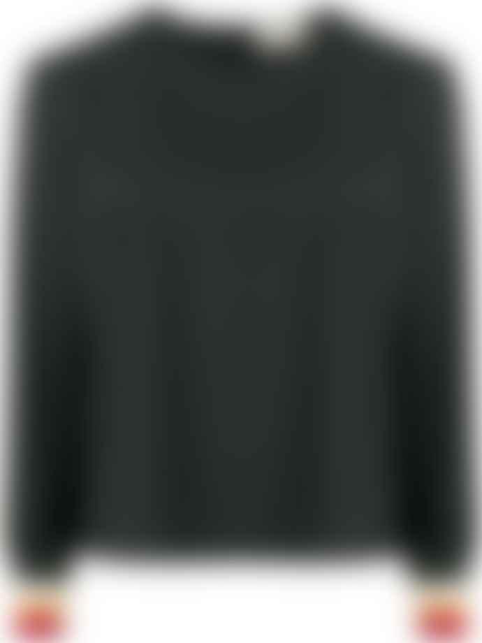 Maison Kitsune Daria Top Black Last Piece