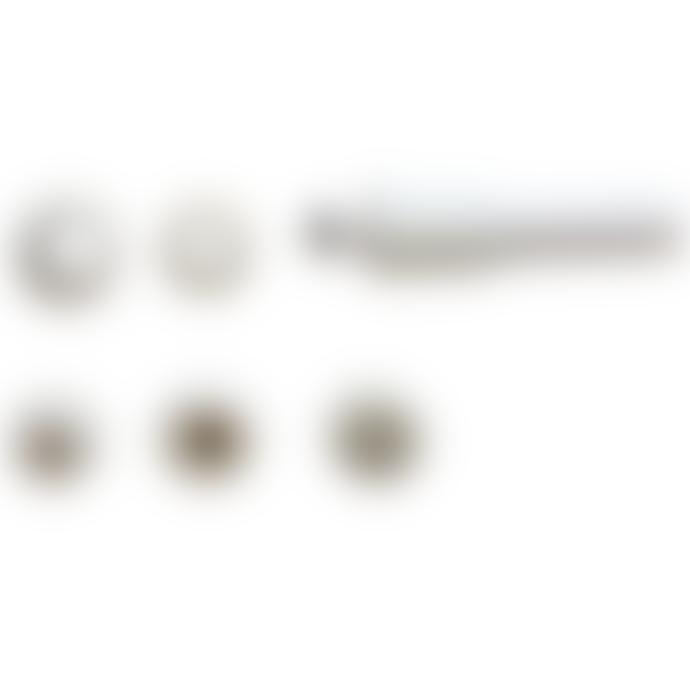 ZEE 37.5x32x19.5cm Black White Mirtoon Garden Hose