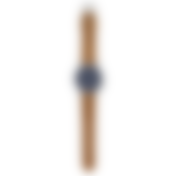 Komono 41mm Blue Cognac Metal Watch