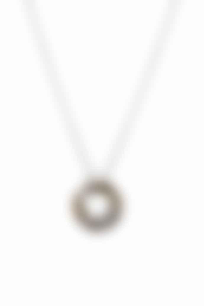 Tutti & Co Silver Plated Brass Jasper Necklace