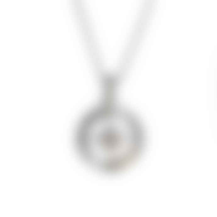 Christin Ranger Silver Love's Compass Necklace