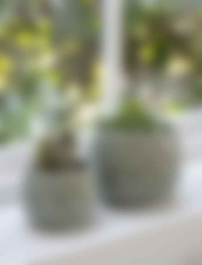 Garden Trading Large Aqua Ceramic Artichoke Pot