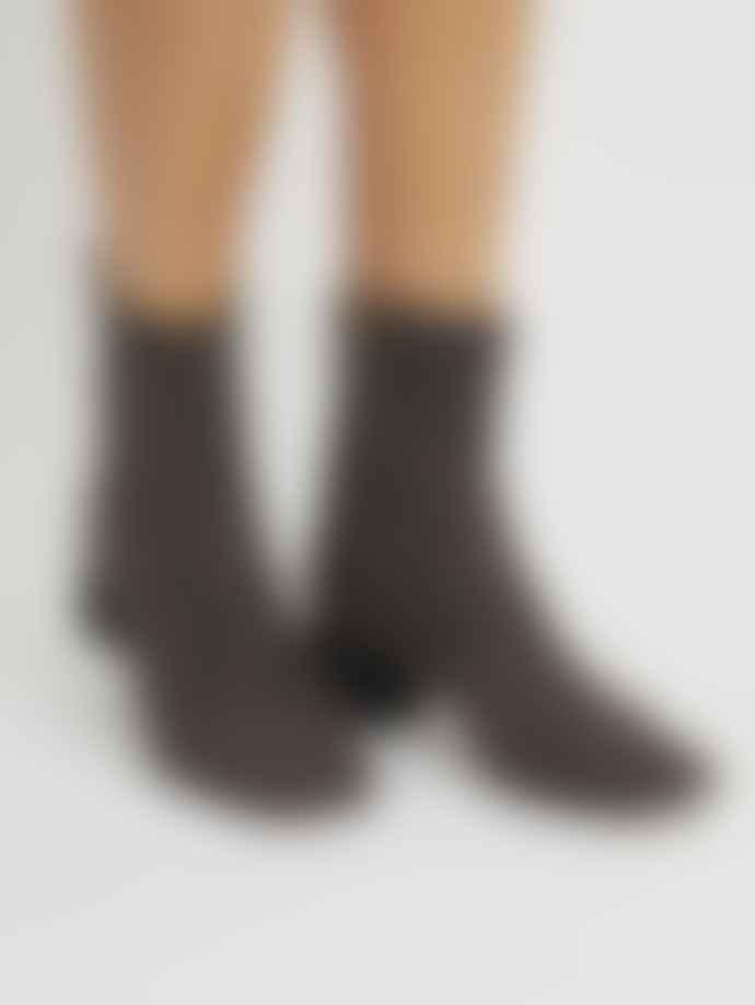Castaner Leopard Heeled Ankle Boots. 021529