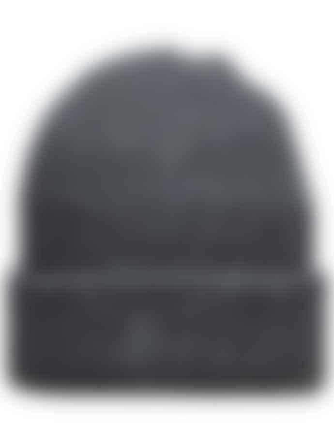 Selected Homme Merino Wool Beanie Dark Grey