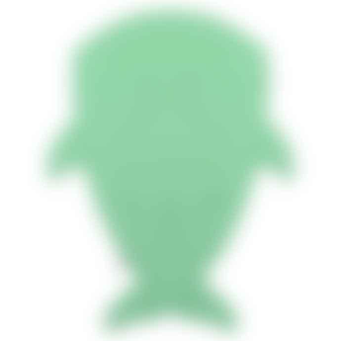 Baby Bites Green Cotton and Polyester Footmuff Shark Sleeping Bag