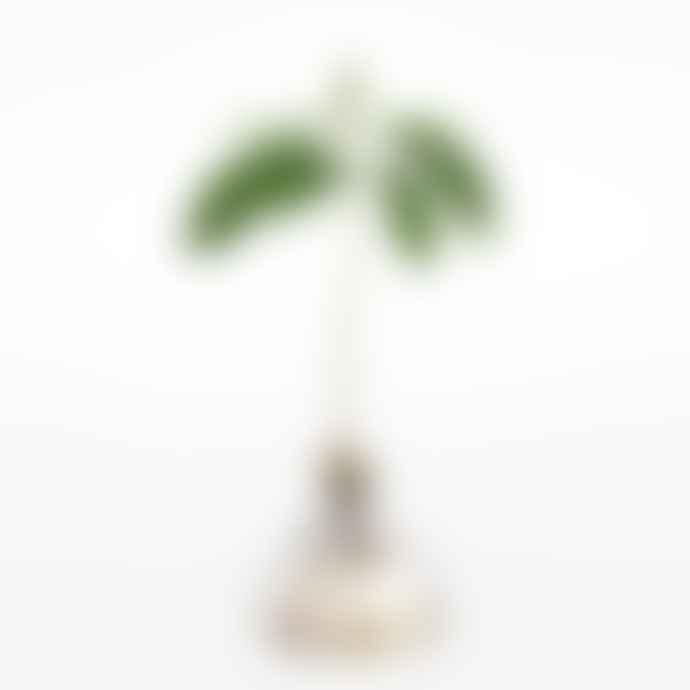 Moving to Mars Avocado Vase