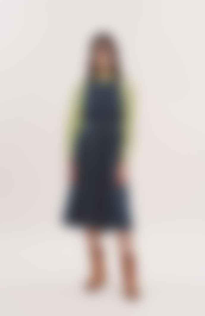 YMC Julie Dress Indigo Denim