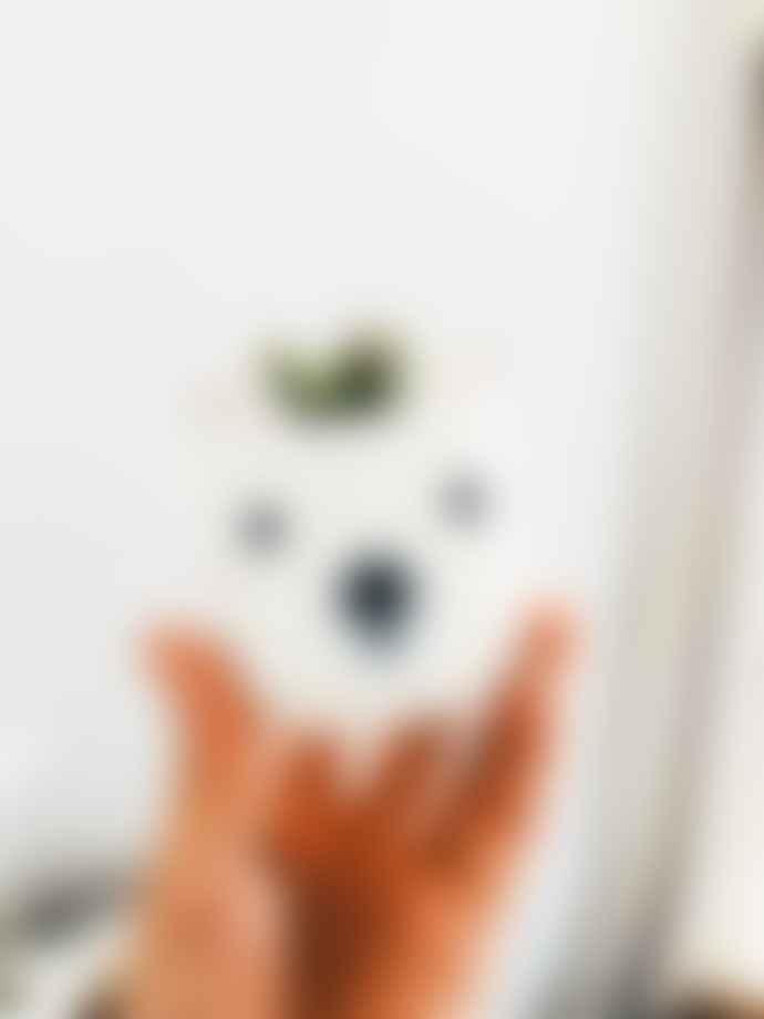 Naume Studio Mini Porcelain Bear Pot