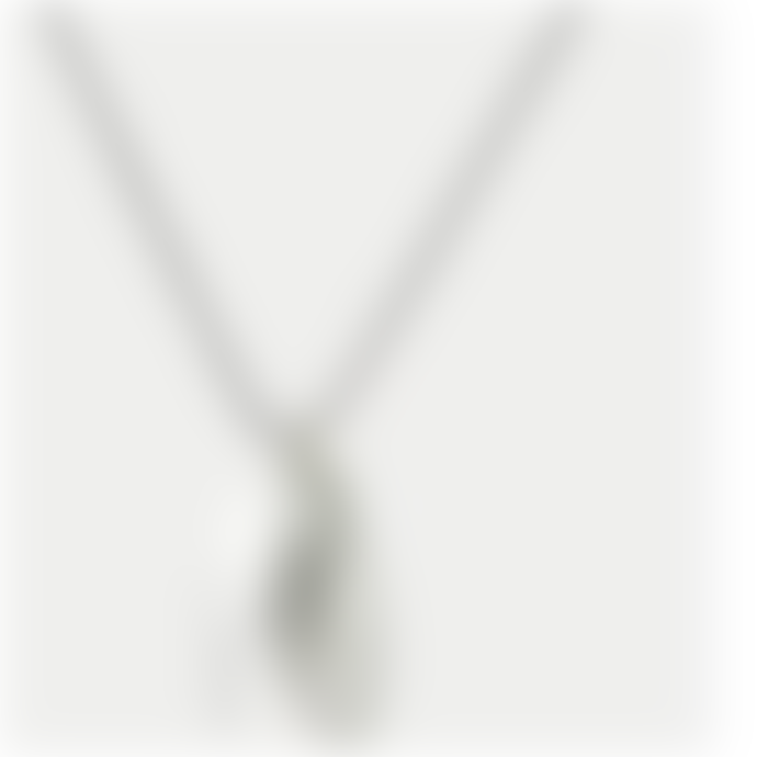 Studio MHL Studio MHL Hand-Made Silver Open Mussel Necklace