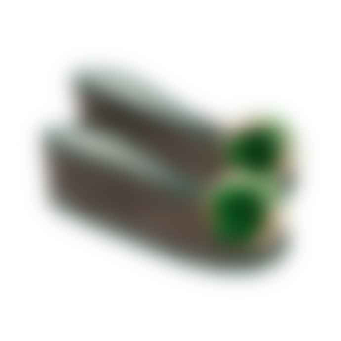 Makeda Matheson Pompom Slippers