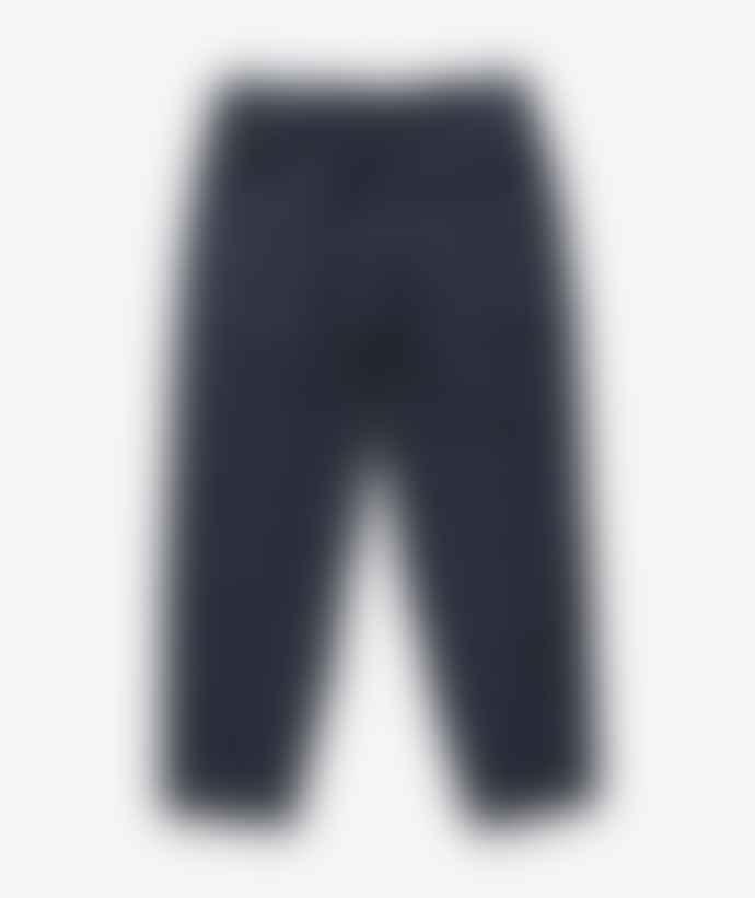 YMC Sylvian Trousers Navy Check