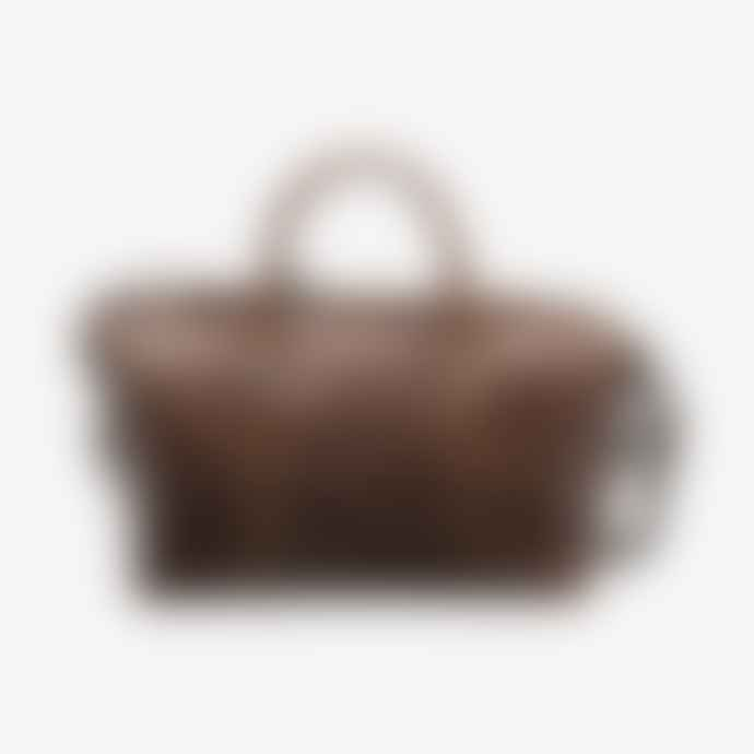 Loake Brown Leather Balmoral Weekend Bag