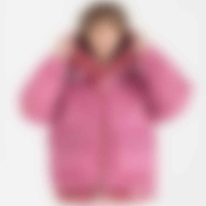 OOF Wear Faux fur Hood / Vest - Cyclamen