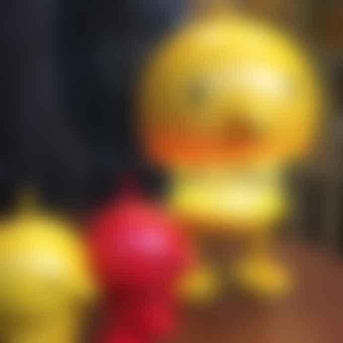 Hoptimist Yellow Bumble Lamp