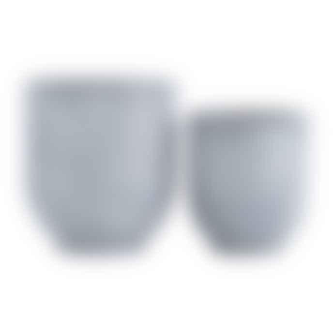 Mink Interiors Grey Concrete Planter - Super Large