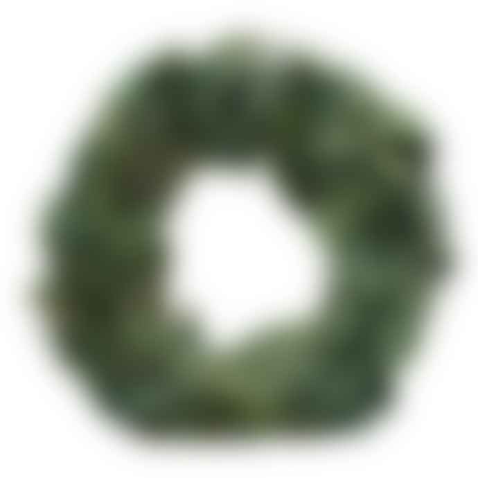 Mink Interiors Large Festive Wreath - Natural Dried Leaves