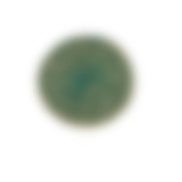 British Colour Standard Set of 4 Olive Green Jute Coasters
