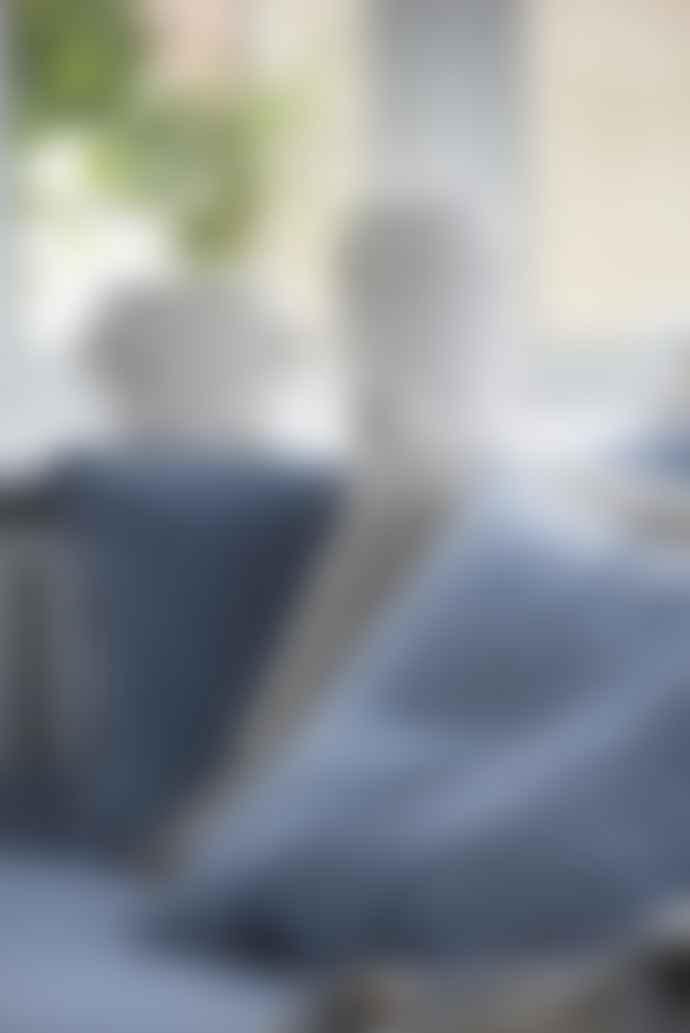 Ib Laursen Dusty Blue Velvet Cushion Cover, 50 x 70 cm