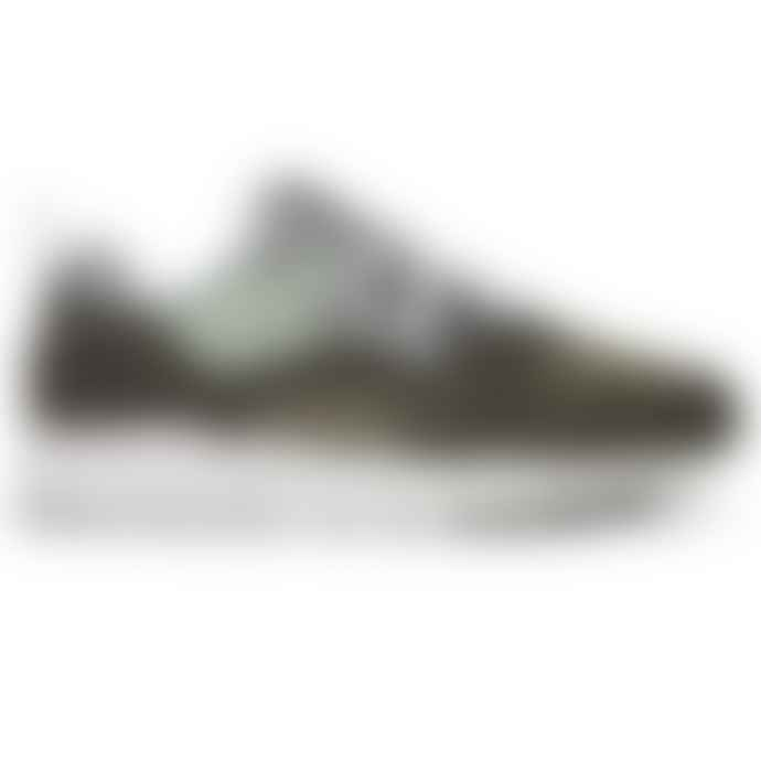 Karhu Fusion 2.0 Forest Green Aqua Gray Sneakers