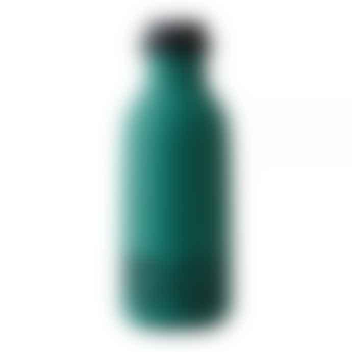 Design Letters To Go Drinking Bottle Dark Green
