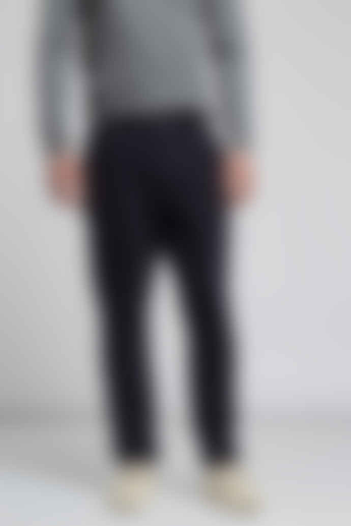 Hymn BOOTHBY Tapered Leg Corduroy Trousers Blue