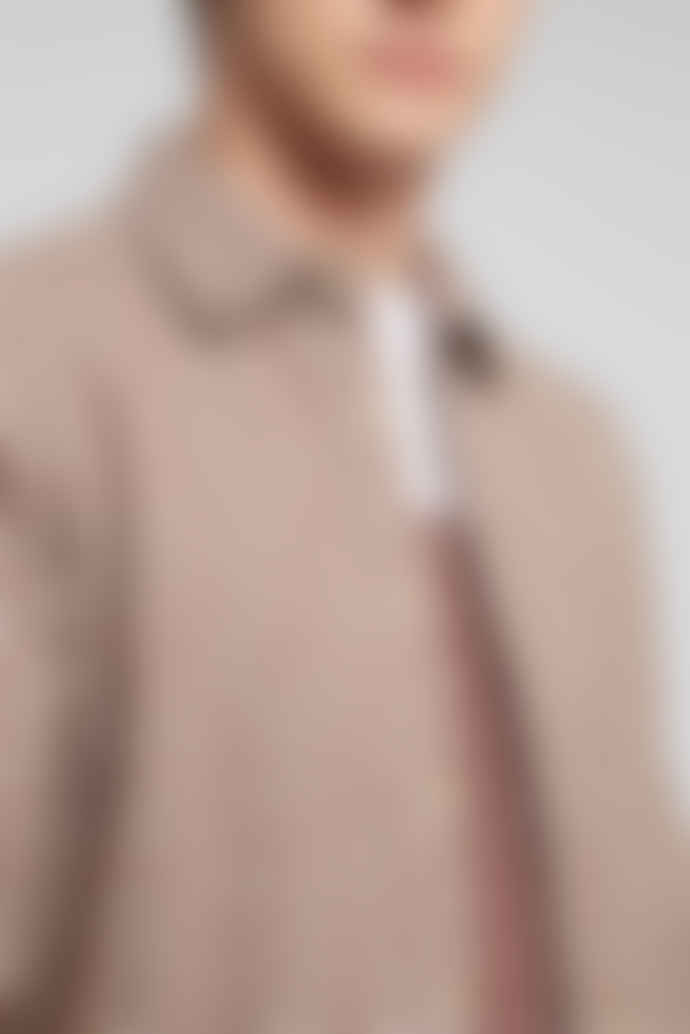 Hymn PENNYLANE Tan Flecked Penny Collar Shirt