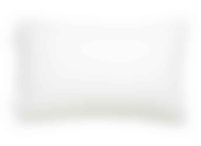 Wallace Cotton Unity White Cotton Rectangle Cushion