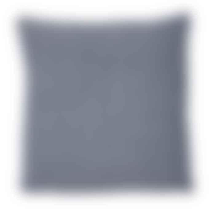 Weaver Green Diamond Cushion Navy