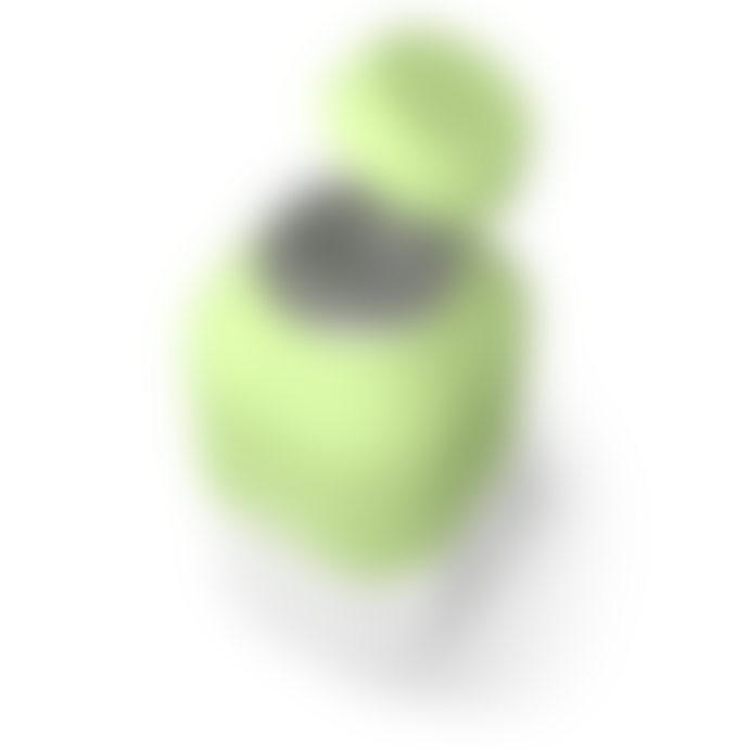 Monbento 330ml Green Tritan and Plastic MB Positive S Bottle