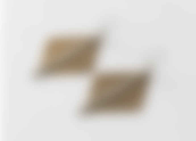 Maison Mathuvu Bronze Stainless Steel Imba Earrings