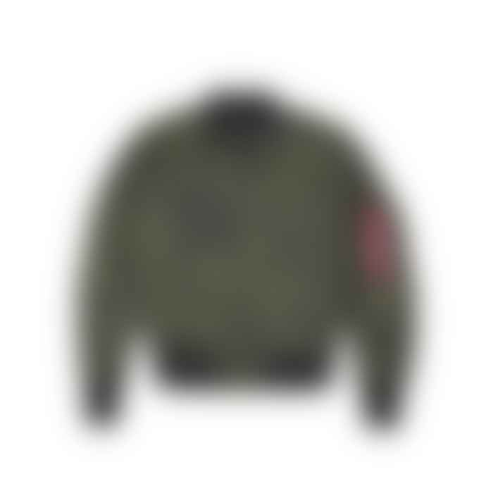 Alpha Industries Dark Green Iridium 176108 257 Jacket