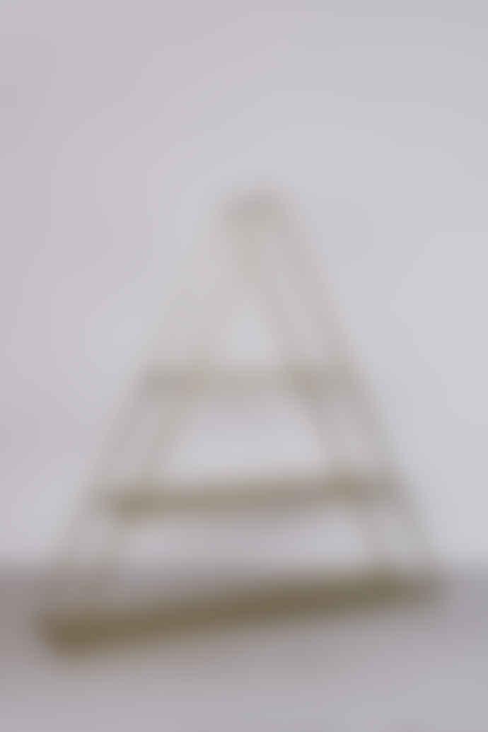 Madam Stoltz Triangular Iron Shelf with 3 Tiers