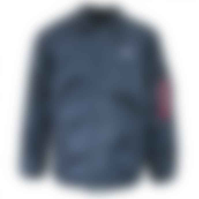 Alpha Industries Rep Blue Nylon Coach Jacket