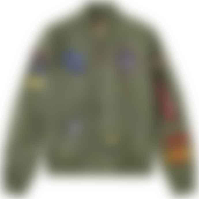 Alpha Industries XL Sage Green Diy Flight Jacket