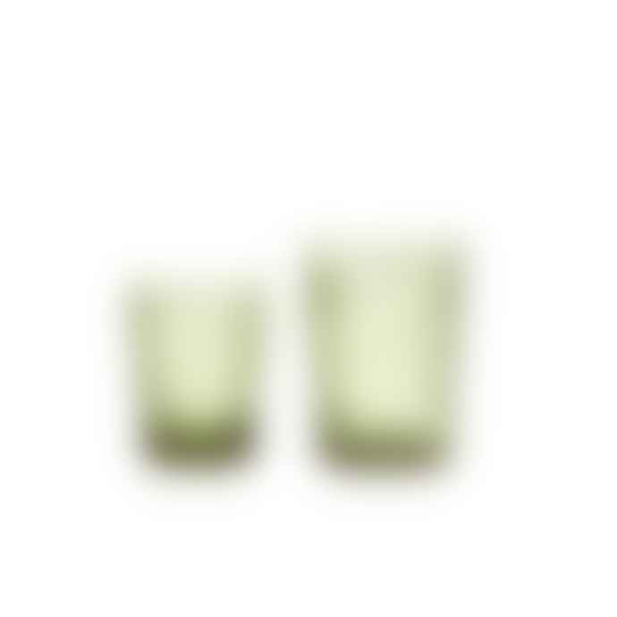 Van Verre Large Fleur De Lys Glass