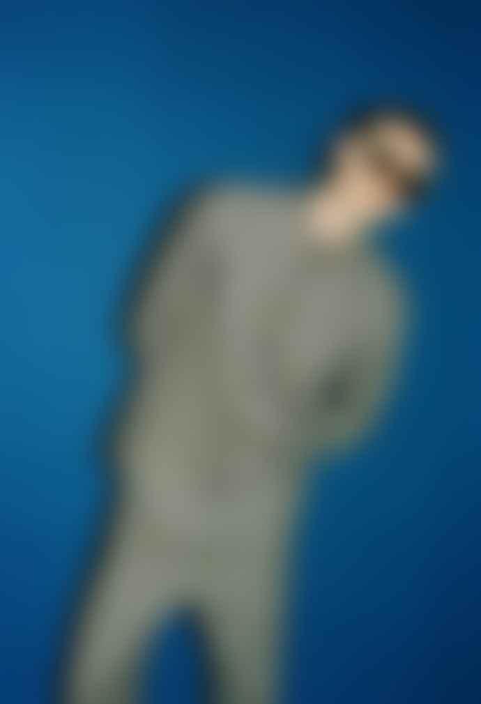 Libertine-Libertine Miracle Shirt Royal Blue Check
