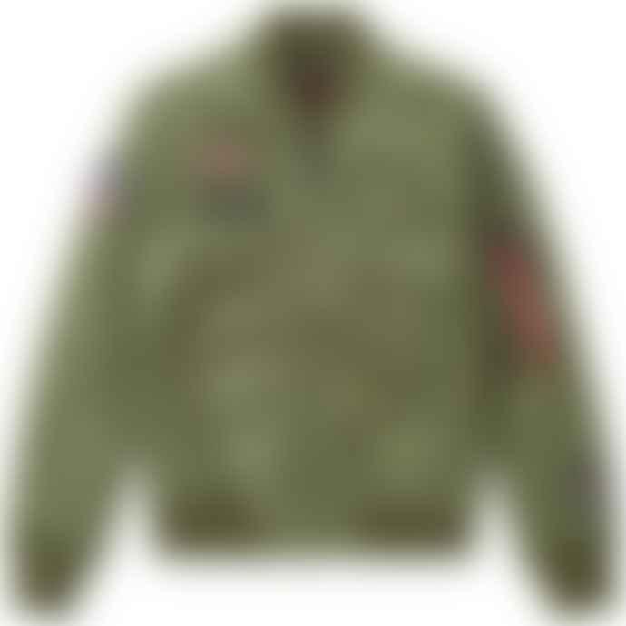 Alpha Industries Flying Tigers Nylon Flight Jacket