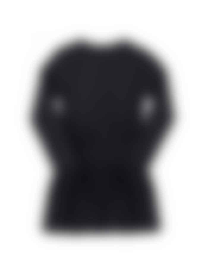 Yporque Wings Black Dress