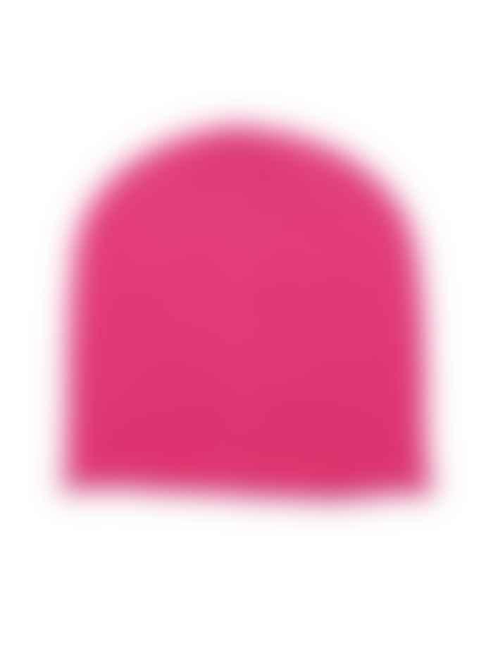 Somerville Cashmere Neon Pink Beanie Hat