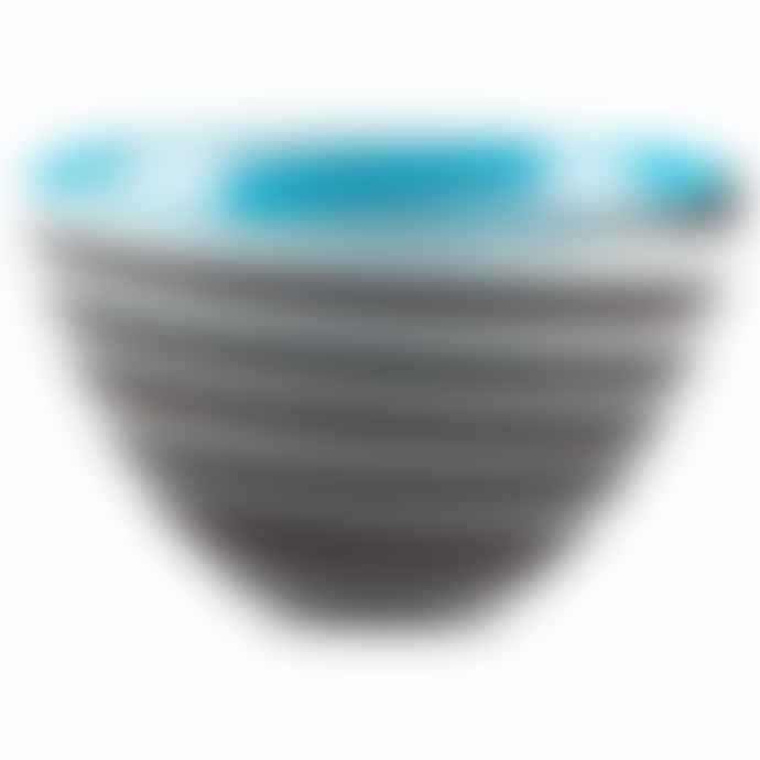 Italesse Mares Handcrafted Single Large No 11 Glass Snack Bowl In Clown Fish Design