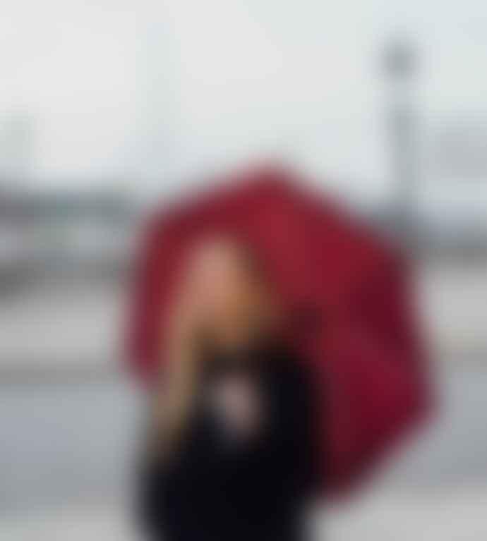Anatole Umbrella - Burgundy