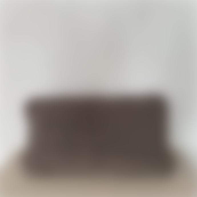 101 Copenhagen  30x60cm Taupe Cotton Handknit Cushion Cover
