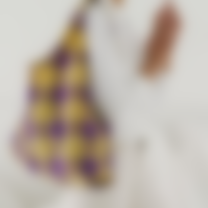 Baggu The Standard Bag In Yellow Tartan