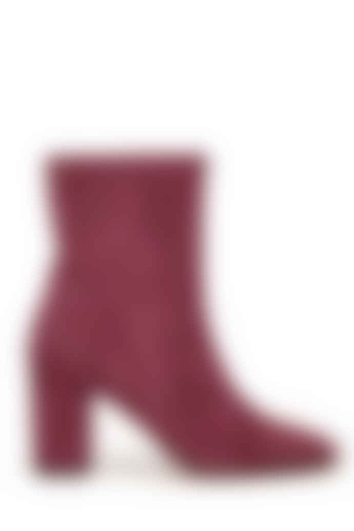 Fabienne Chapot Solo boot in Wine and Dine Burgundy