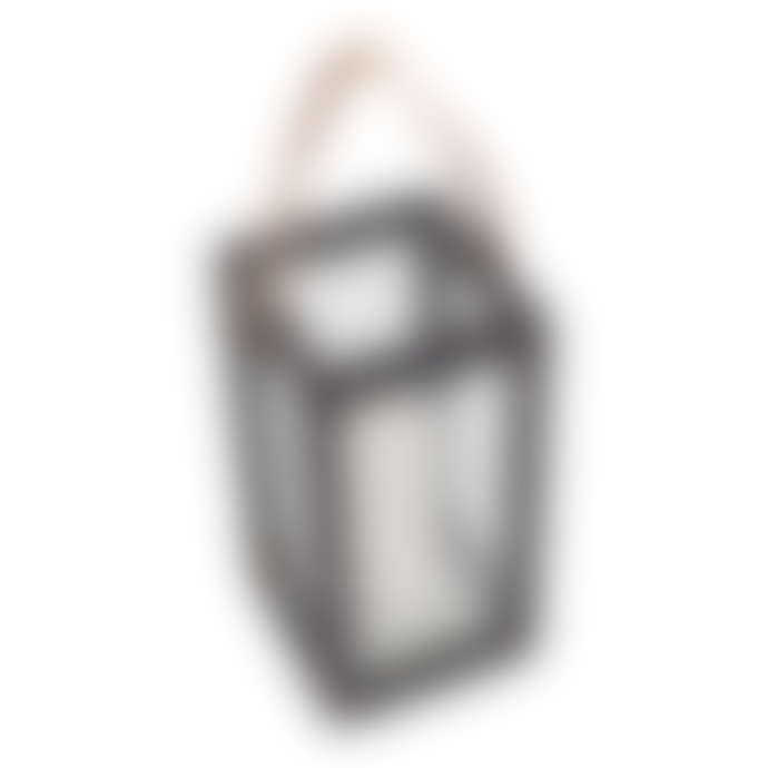 Muubs Small Black Teak Storm Lantern