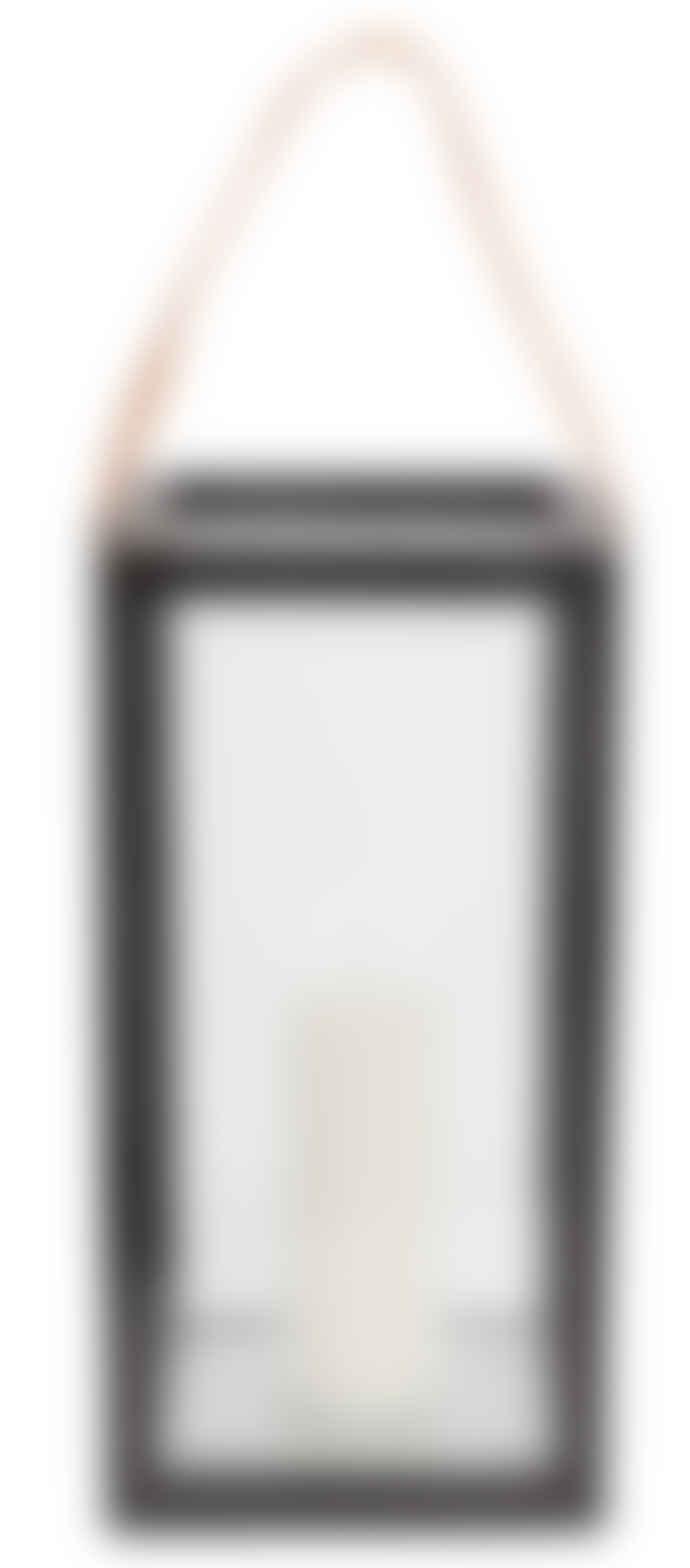 Muubs Large Black Teak Storm Lantern