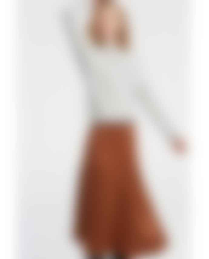 Yaya Bronze A Line Skirt