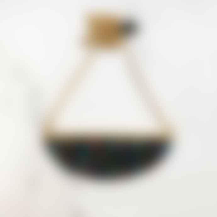 Hippstory Lunar necklace black& white puzzle