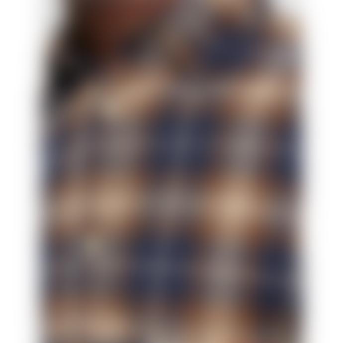 Selected Homme Jaxx Checked Brush Shirt - Yellow/Chai Tea