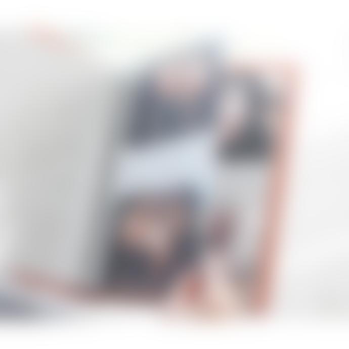 Iconic Retro Orange Photo In Spiral Album
